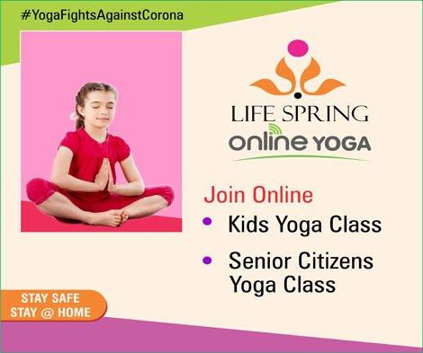 Yoga Fights Against Corona