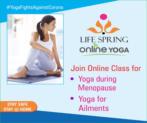Online Yoga Program – Fight corona