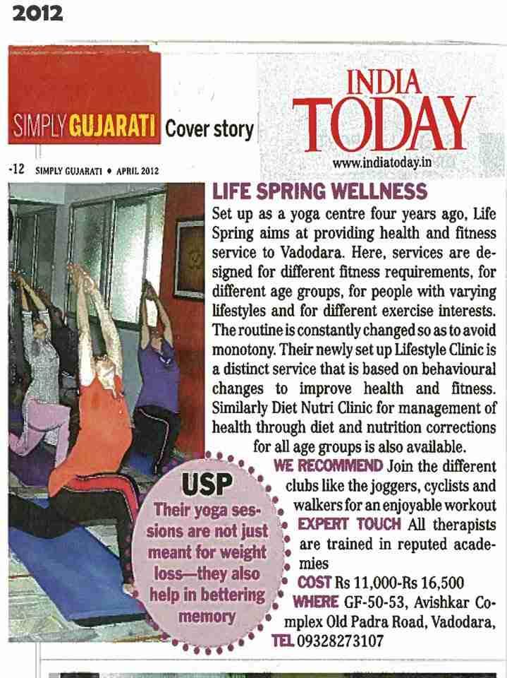 Life Spring Yoga Institute in Vadodara Media