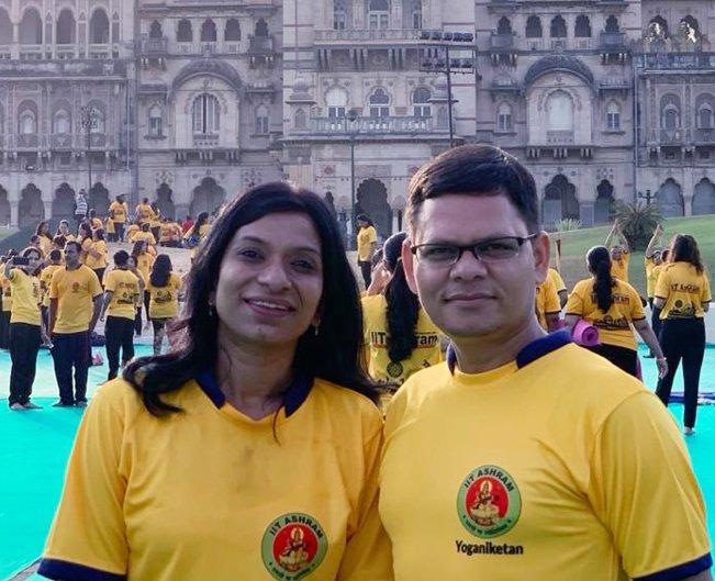yoga institute vadodara - founders
