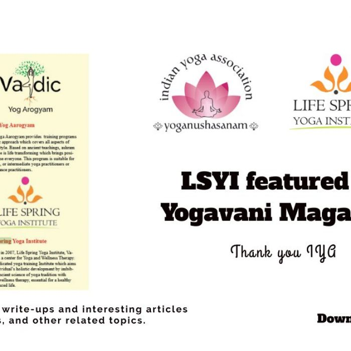 LSYoga Institute in Yogavani